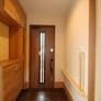 小郡市注文住宅 新築住宅 天然木の家 玄関