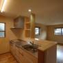 小郡市注文住宅 新築住宅 天然木の家 キッチン