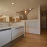 糸島市注文住宅 キッチン+スタディースペース