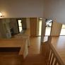 中二階よりキッチンを眺める 福岡市工務店