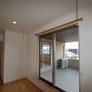室内物干しスペース&屋根付きベランダ