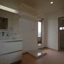 二世帯住宅の2階洗面脱衣室・福岡・注文住宅
