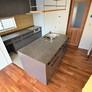 セパレートキッチン「Ⅱ型キッチン」福岡市注文住宅設計