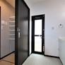 脱衣と洗面を分離した例。福岡市西区注文住宅
