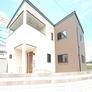 広い屋根付きバルコニーのある注文住宅・福岡市