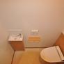 ミニ手洗いボール付きのトイレ・福岡市注文住宅