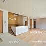 中二階のある無垢床リビング・福岡注文住宅