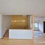 中二階+和室のあるリビング・福岡注文住宅