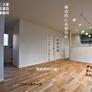無垢床のLDK・家事動線を考える・福岡市城南区
