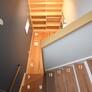 中二階のある階段